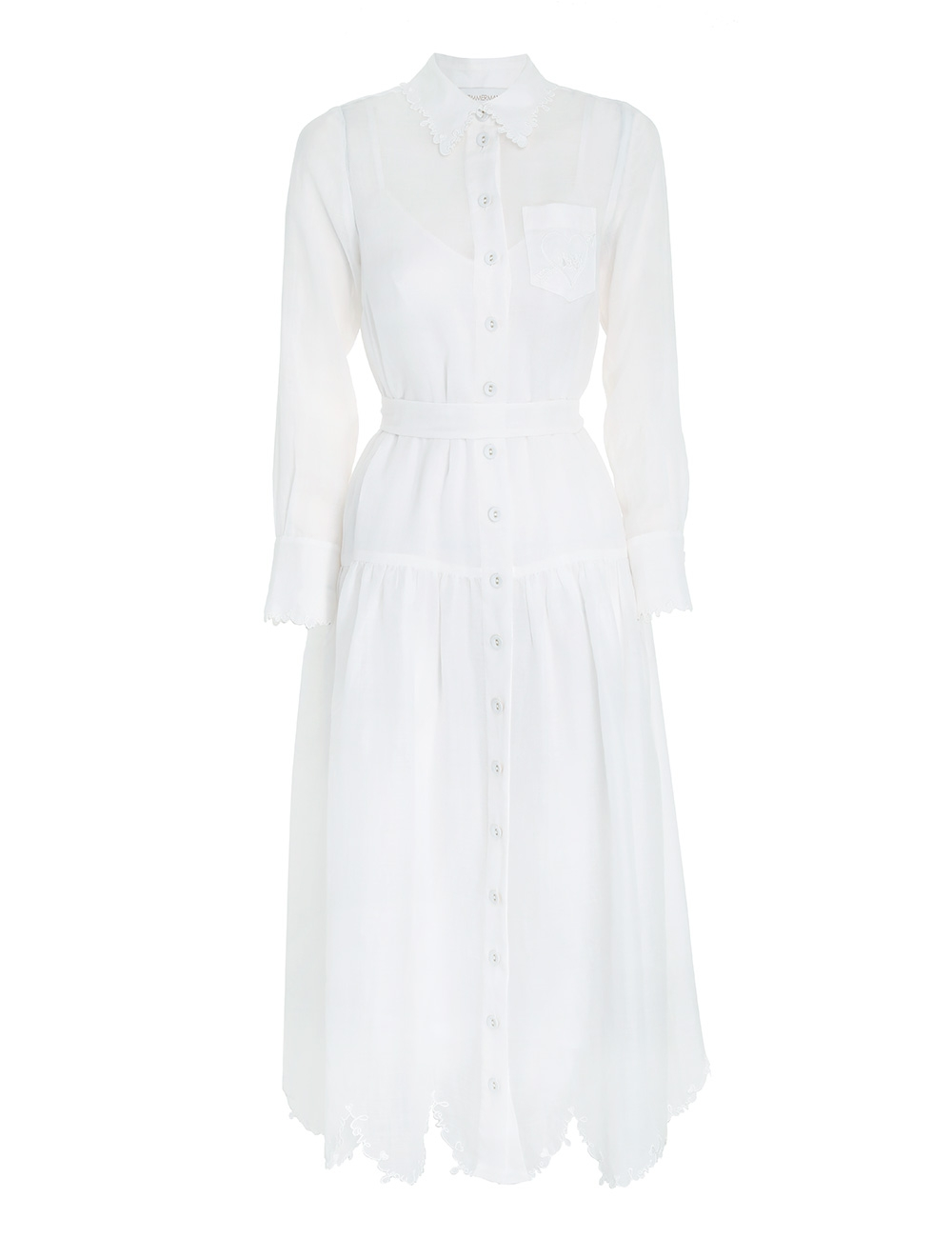 The Lovestruck Shirt Dress