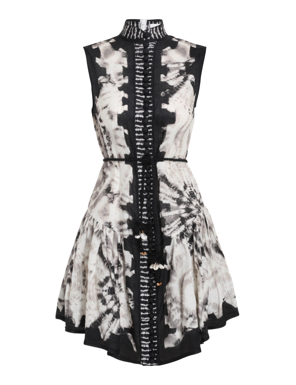 Lulu Drop Waist Short Dress