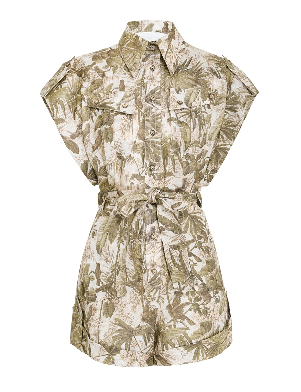 Brighton Cuffed Playsuit