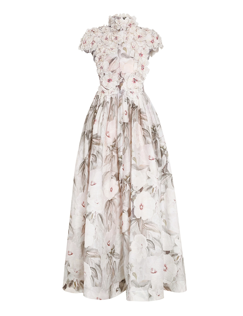 Botanica Rose Mallow Gown