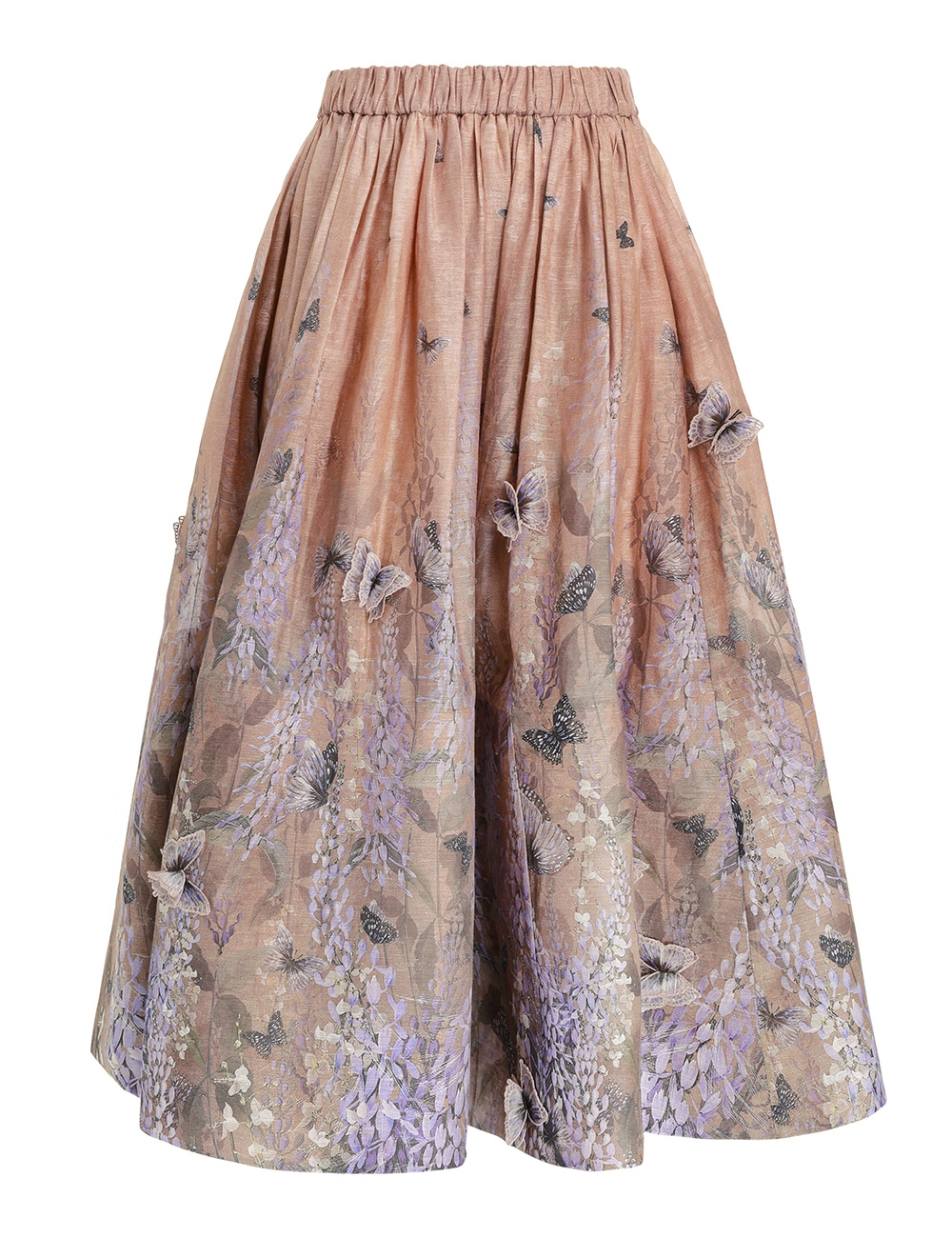 Luminous Midi Skirt