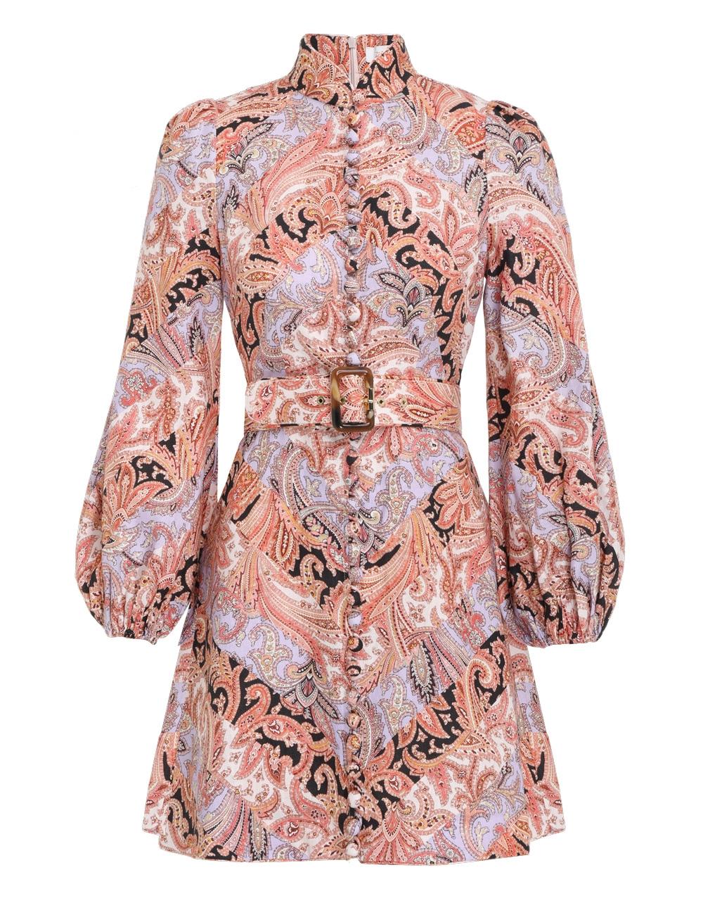 Botanica Chevron Mini Dress