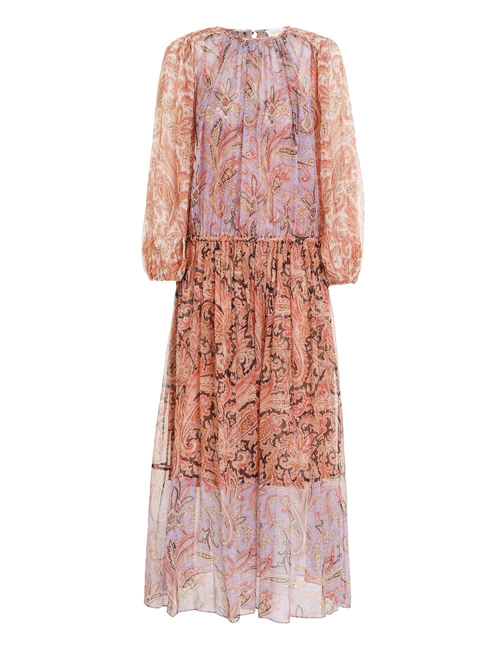 Botanica Rouched Maxi Dress