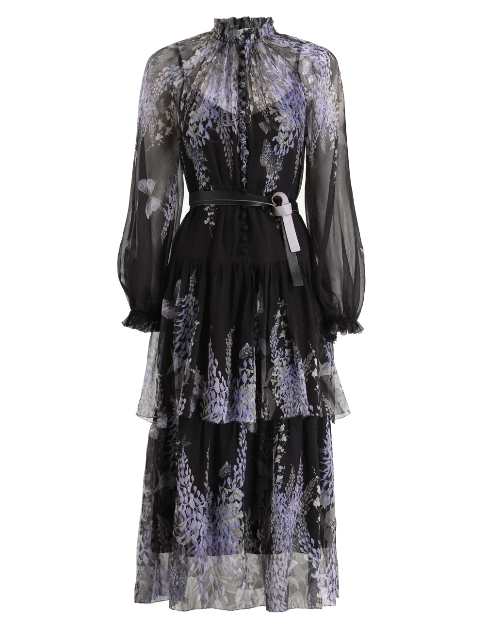 Botanica Tiered Midi Dress