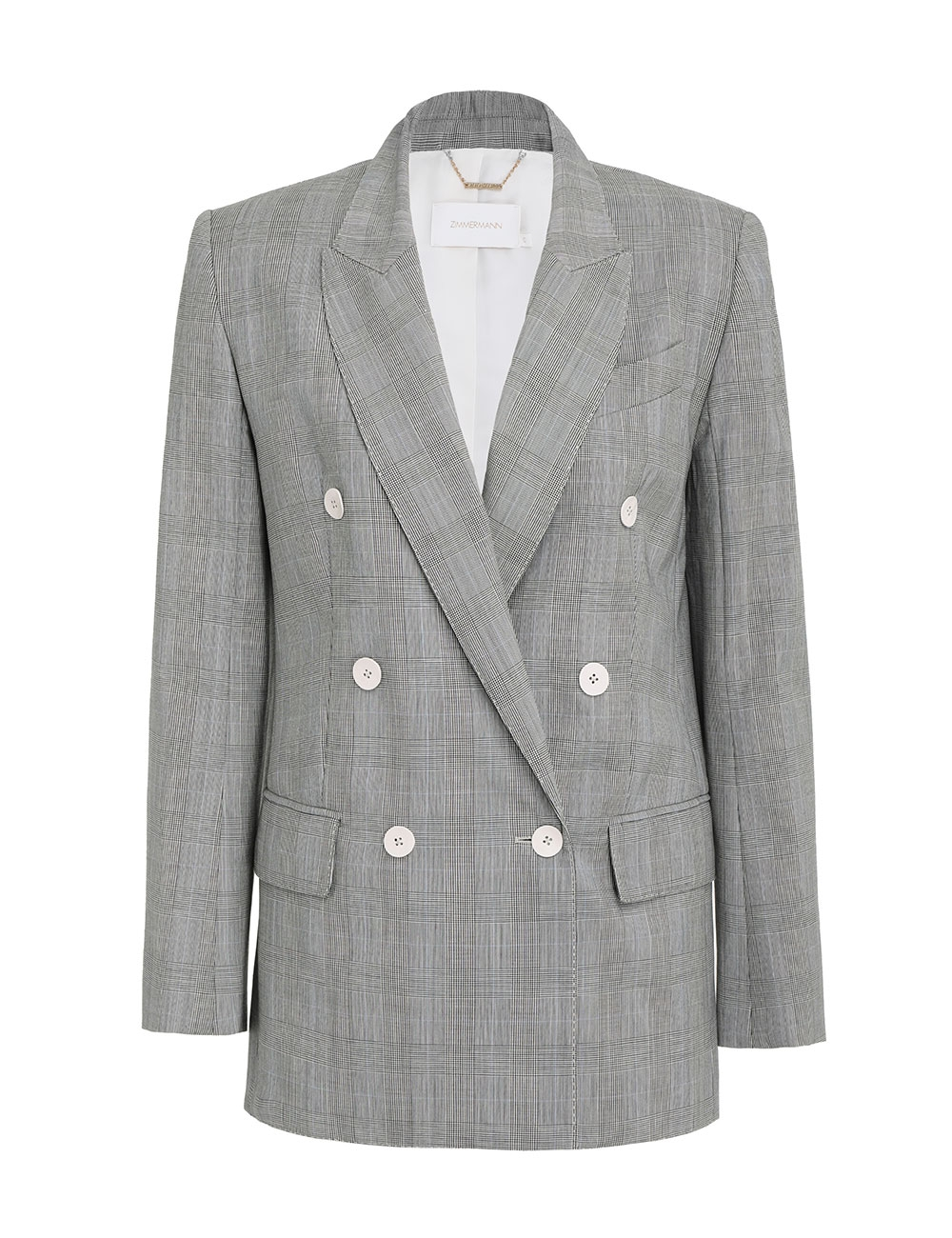 Luminous Check Jacket