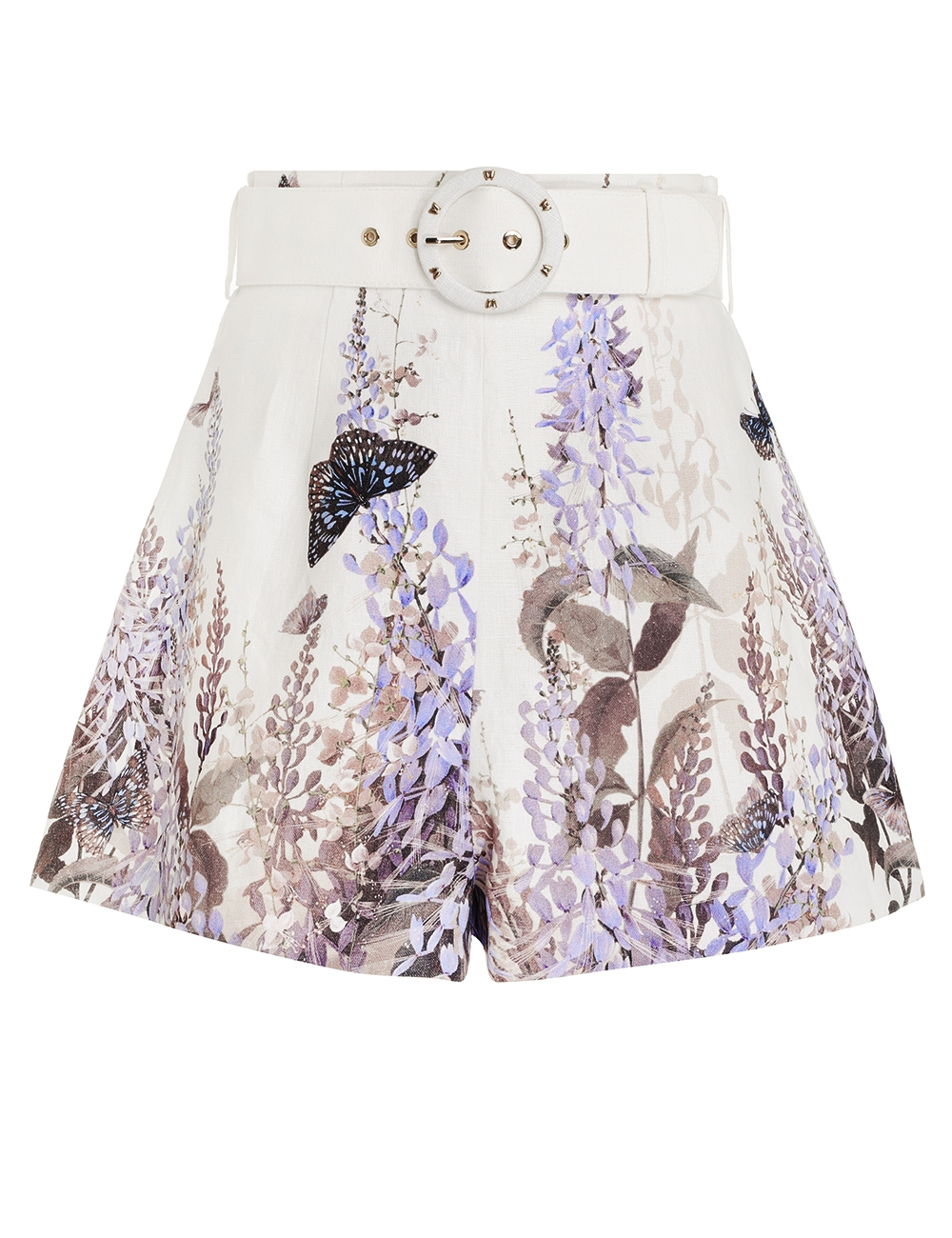 Luminous Belted Short