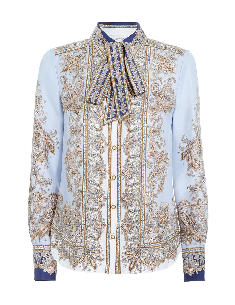 Luminous Paisley Shirt
