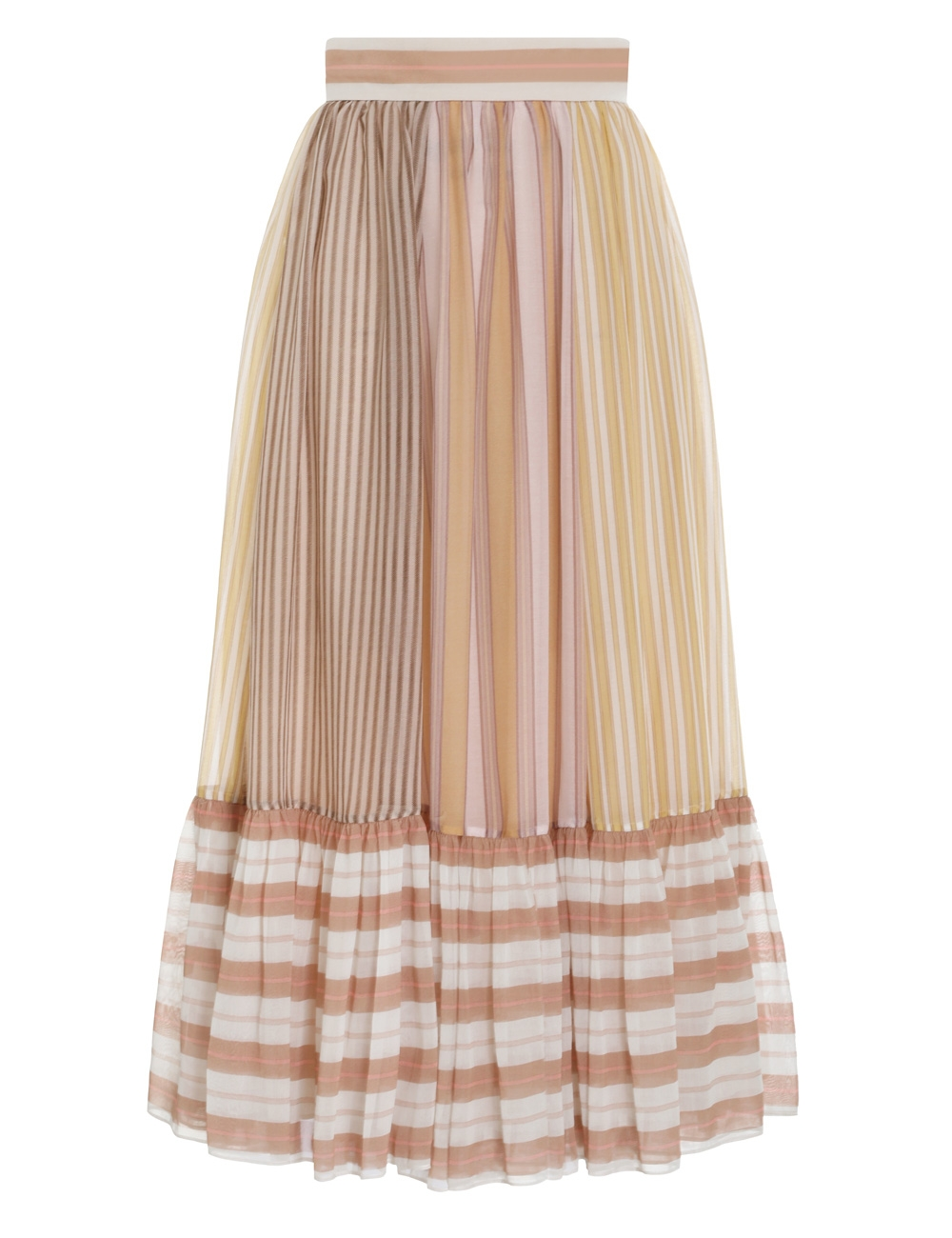 Candescent Striped Skirt