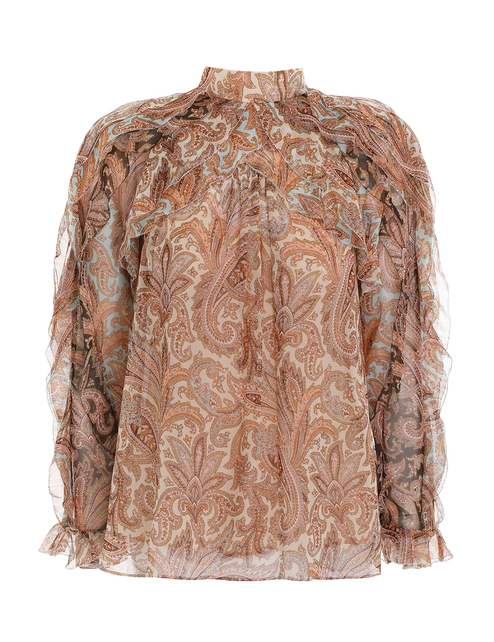 Candescent Waterfall Blouse
