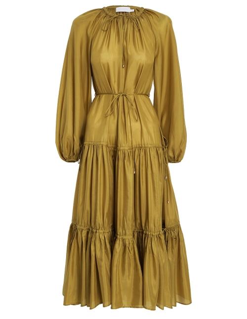 Estelle Tiered Midi Dress
