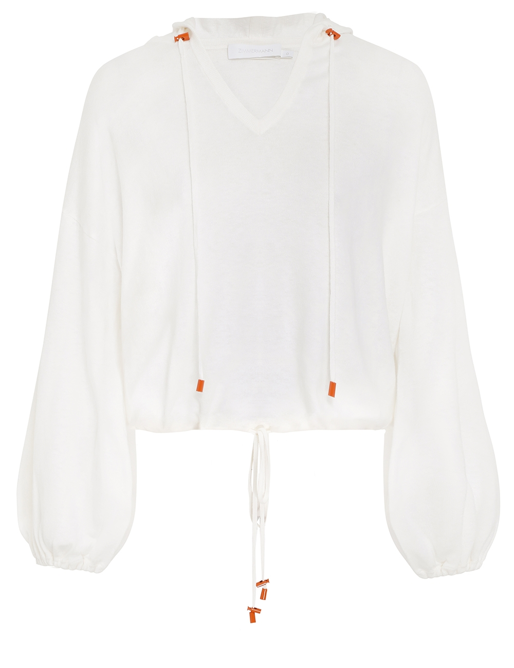 Shelly Knit Crop Hoodie
