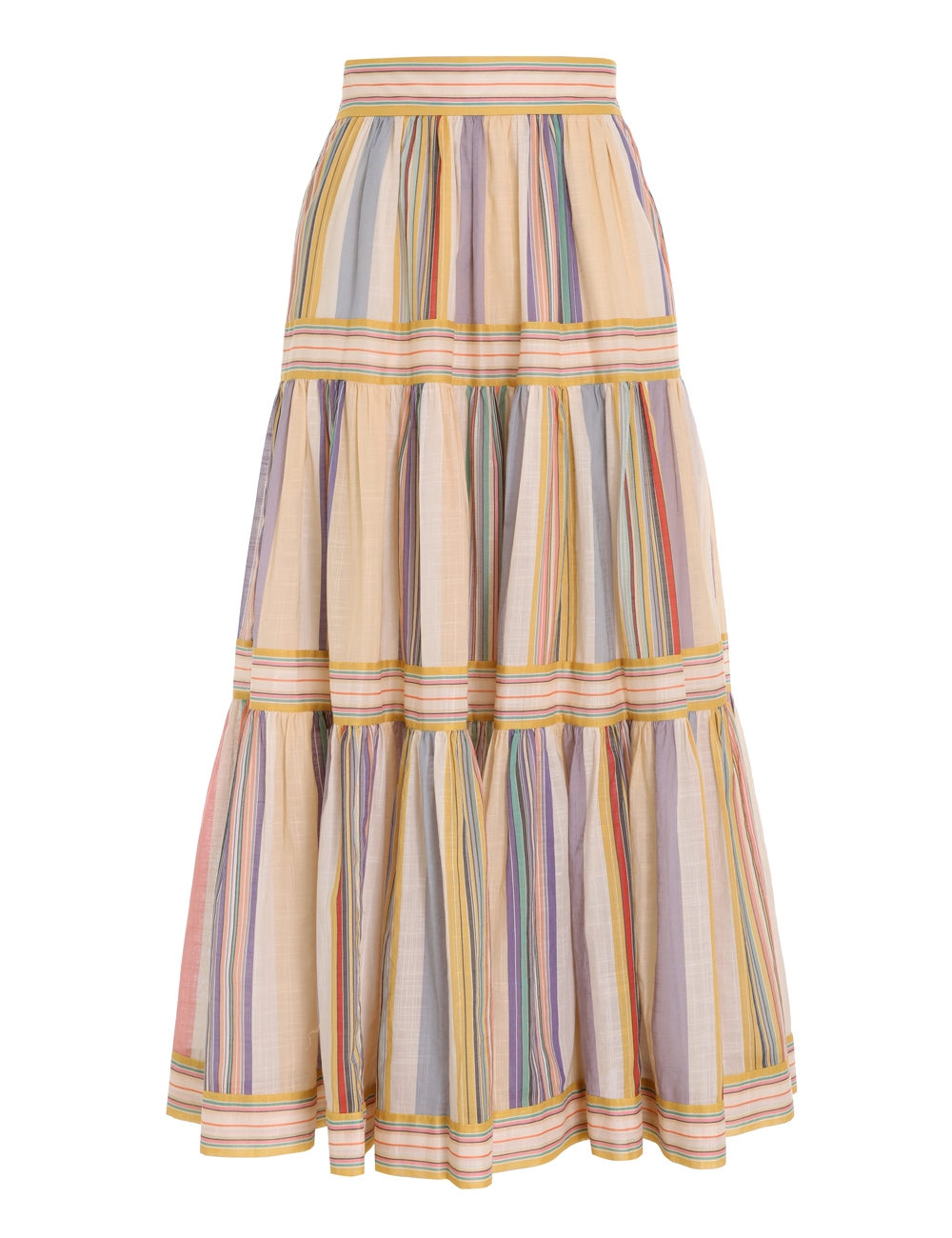 Mae Long Tiered Skirt