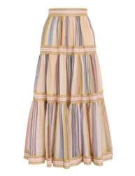 Mae Long Tiered Skirt