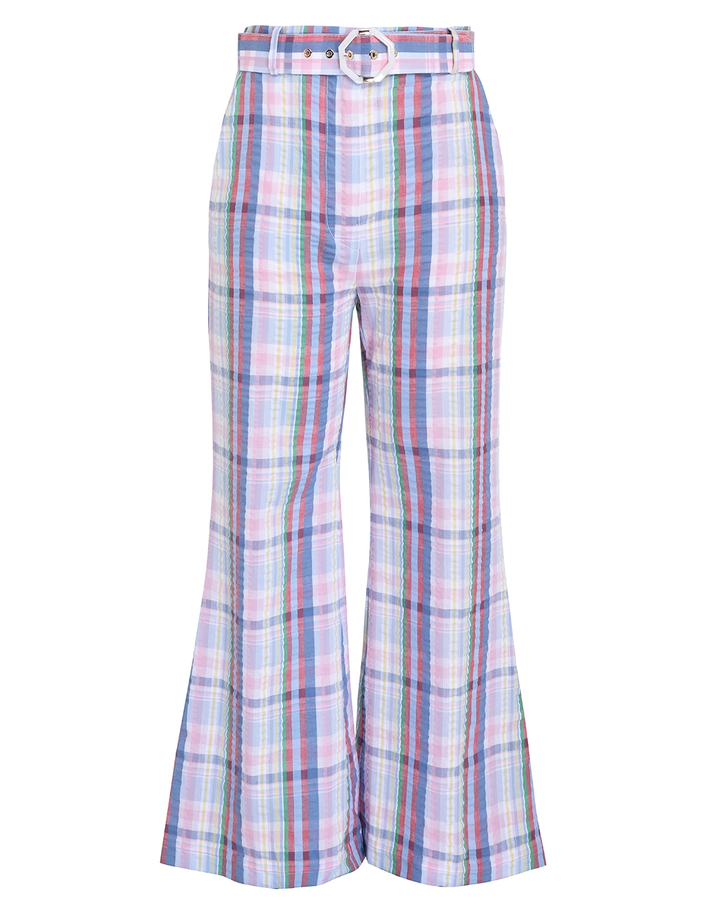 Teddy Crop Flare Pant