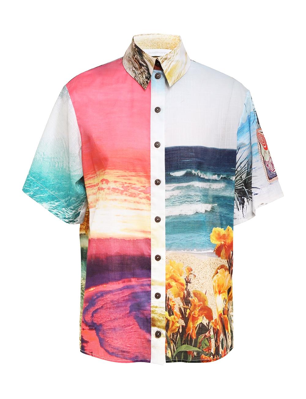Shelly Spliced Shirt