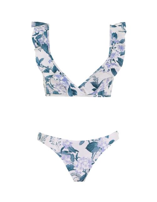 Cassia Waterfall Frill Bikini