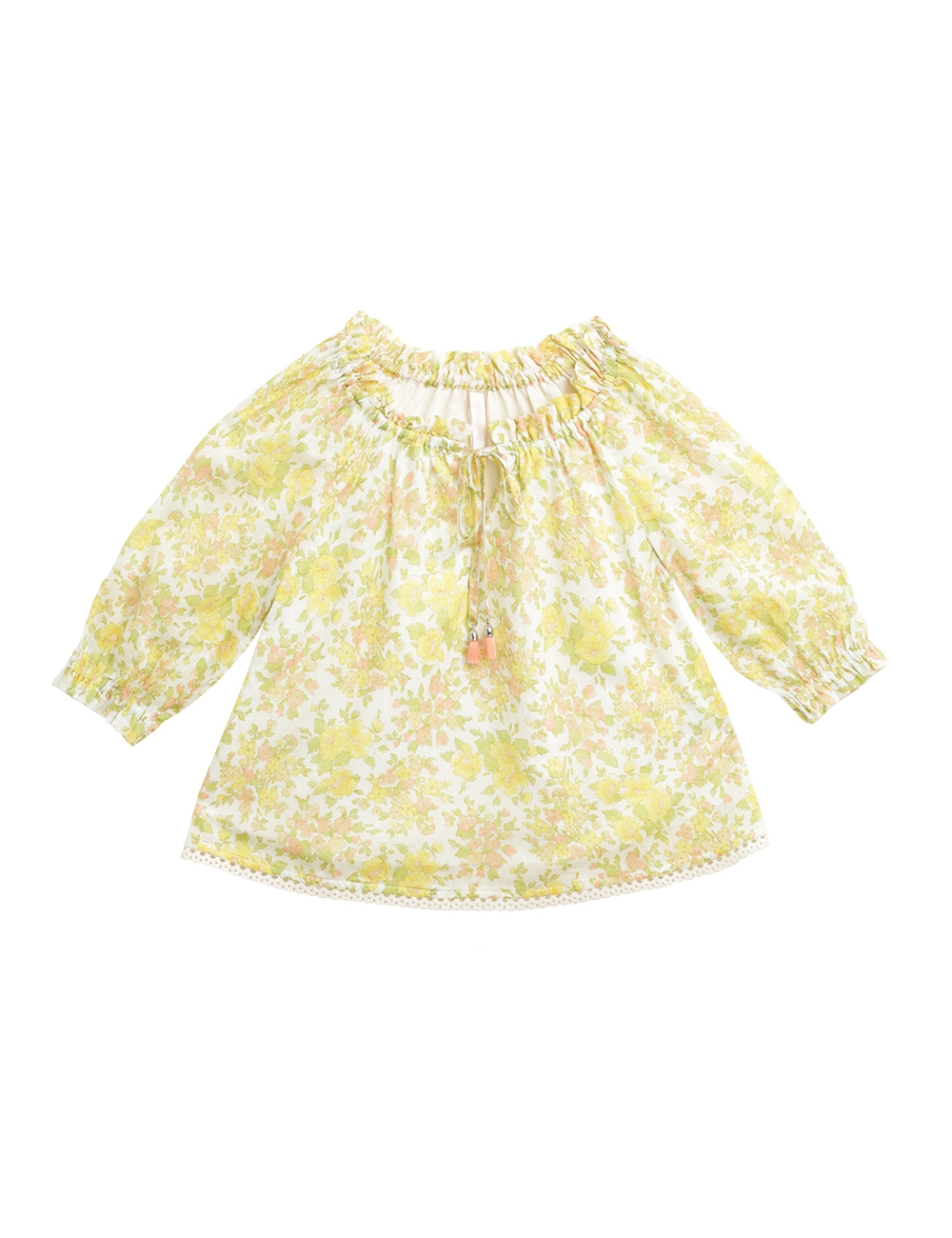 Goldie Gathered Top