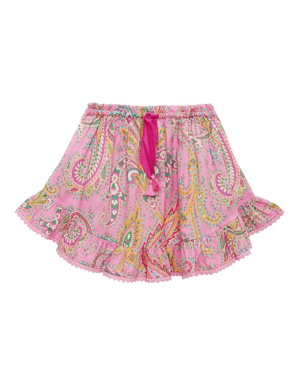 Teddy Flounce Skirt