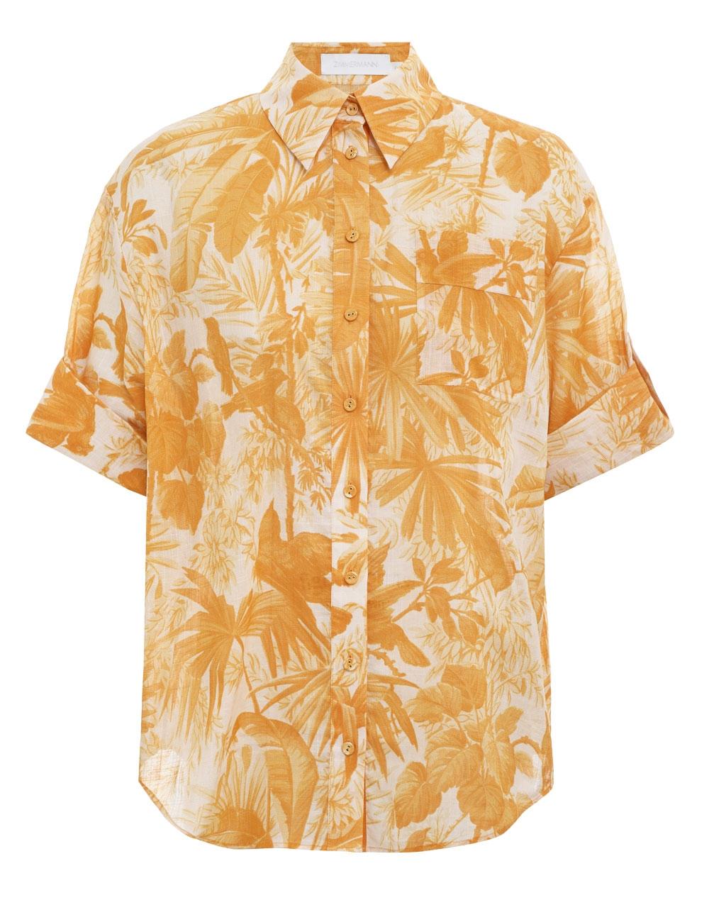 Mae Cuffed Shirt