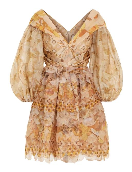 Tempo Scalloped Mini Dress