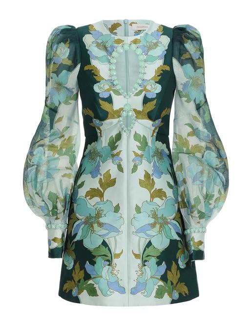 Rhythm Jewelled Mini Dress
