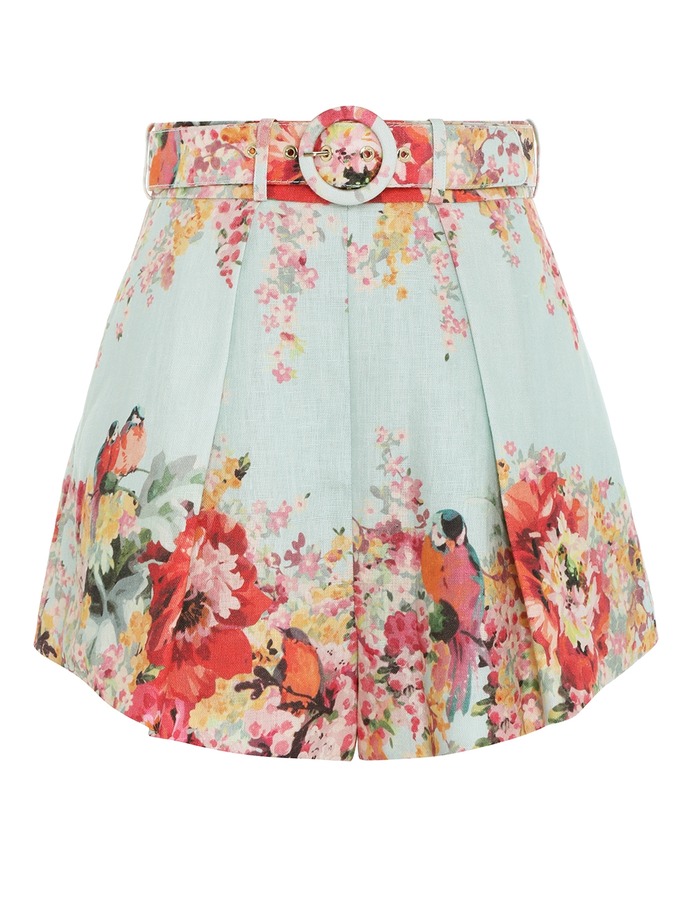 Mae Floral Tuck Short