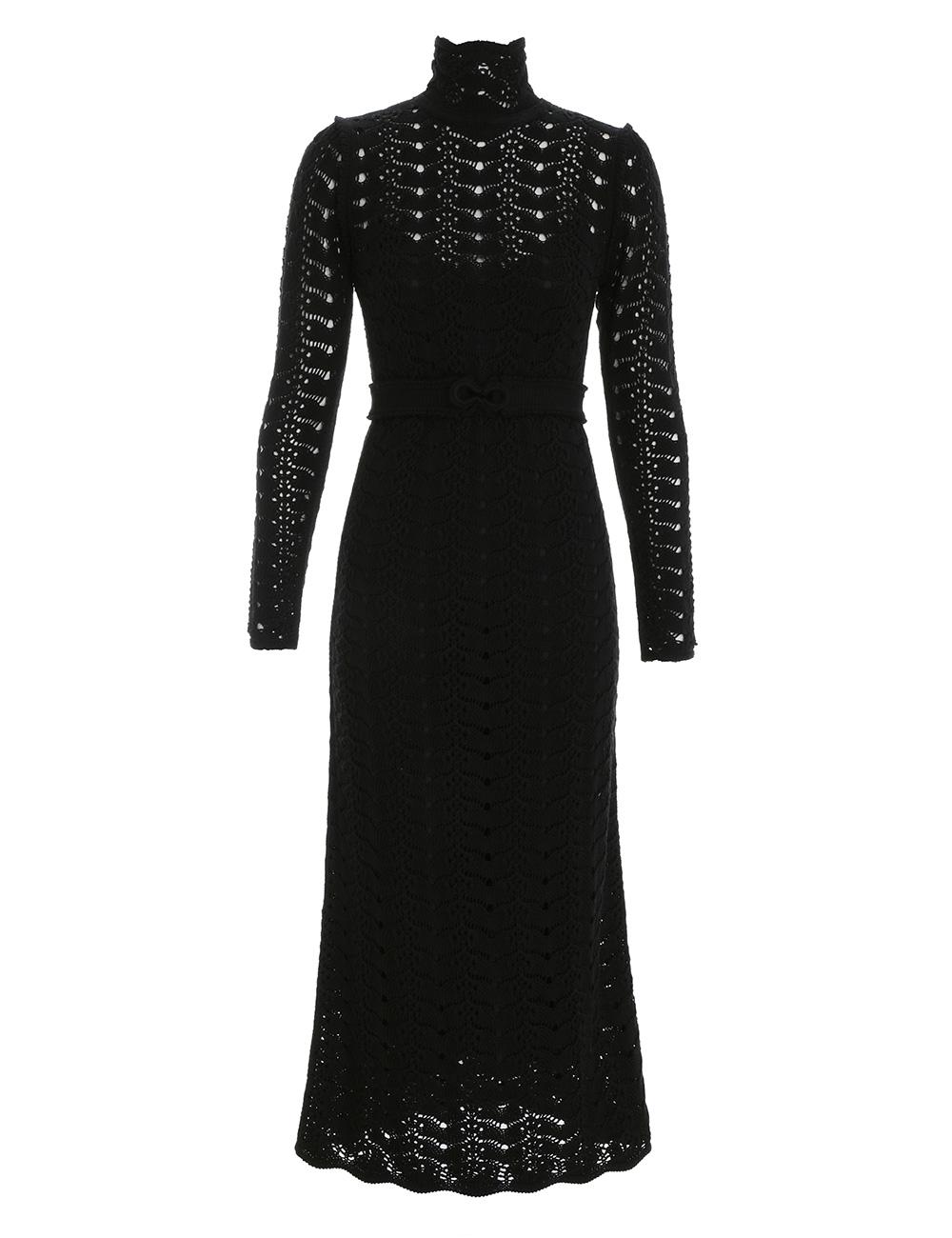 Concert Long Sleeve Midi Dress
