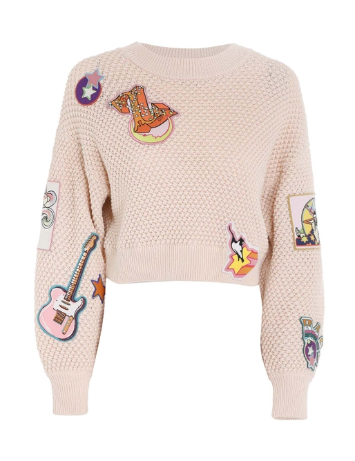 Concert Patches Sweater