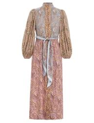 Tempo Buttoned Midi Dress