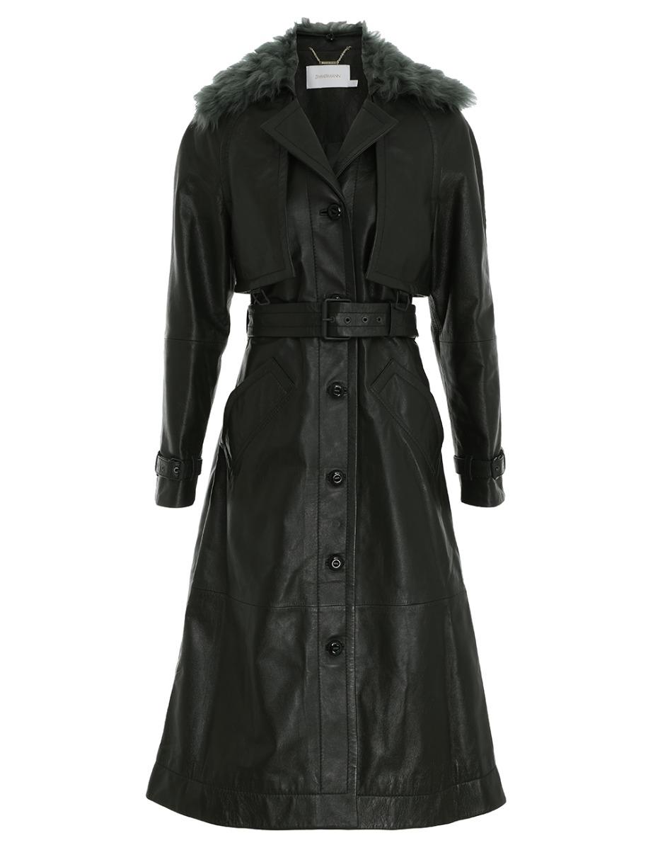Rhythm Leather Coat
