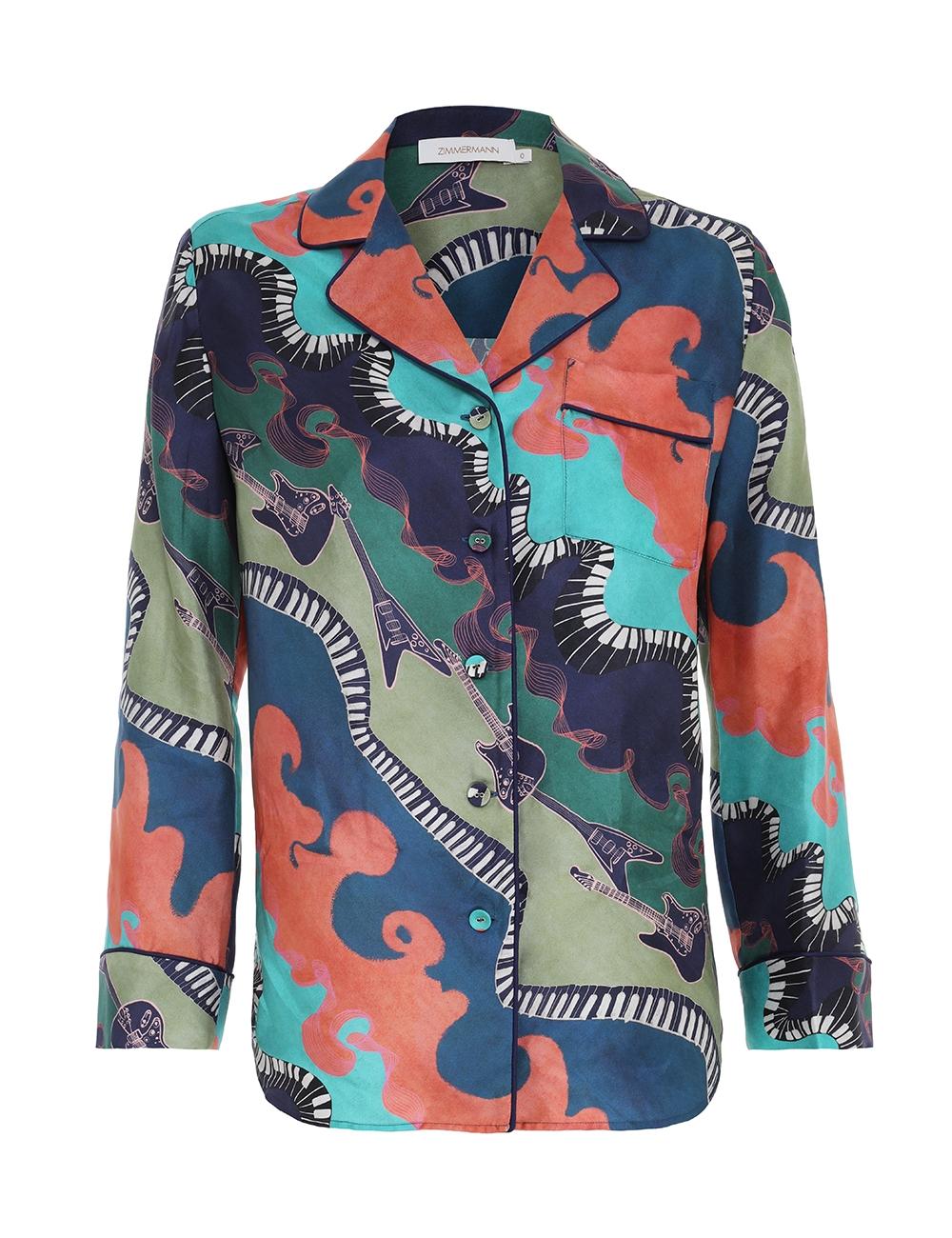 Rhythm Pyjama Shirt