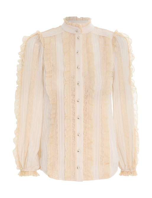 Concert Pintucked Blouse