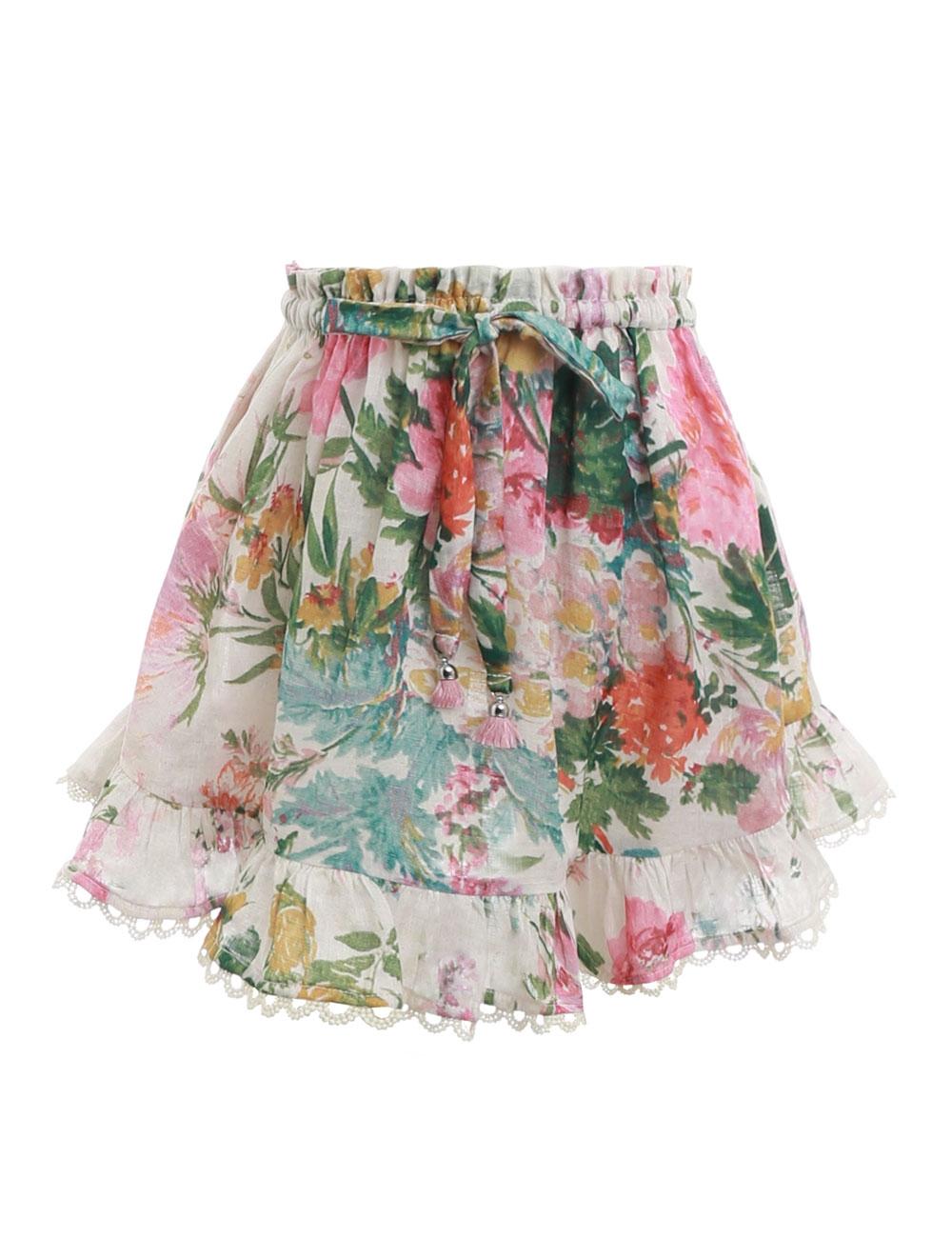 Heathers Flounce Skirt