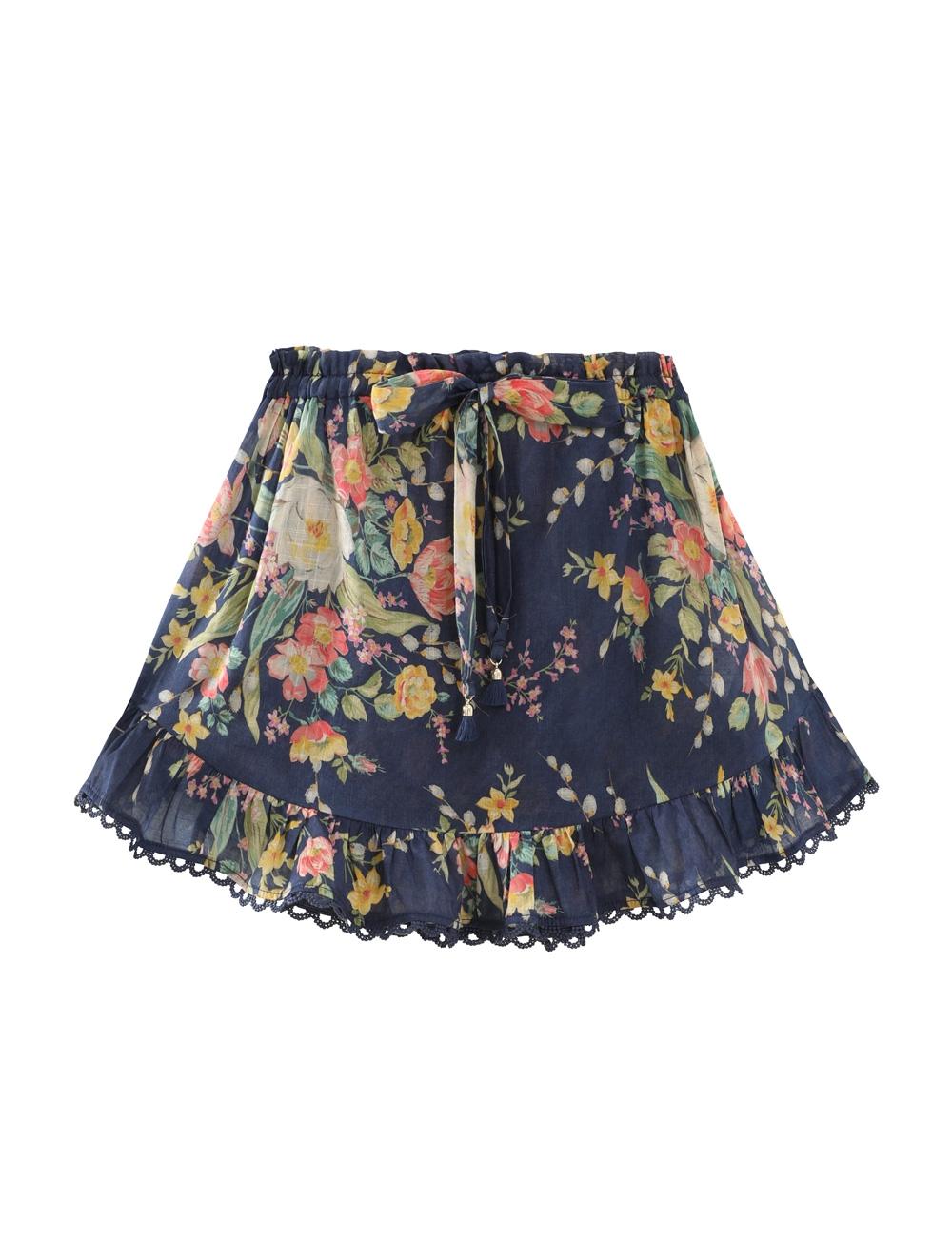 Zinnia Ruffle Skirt
