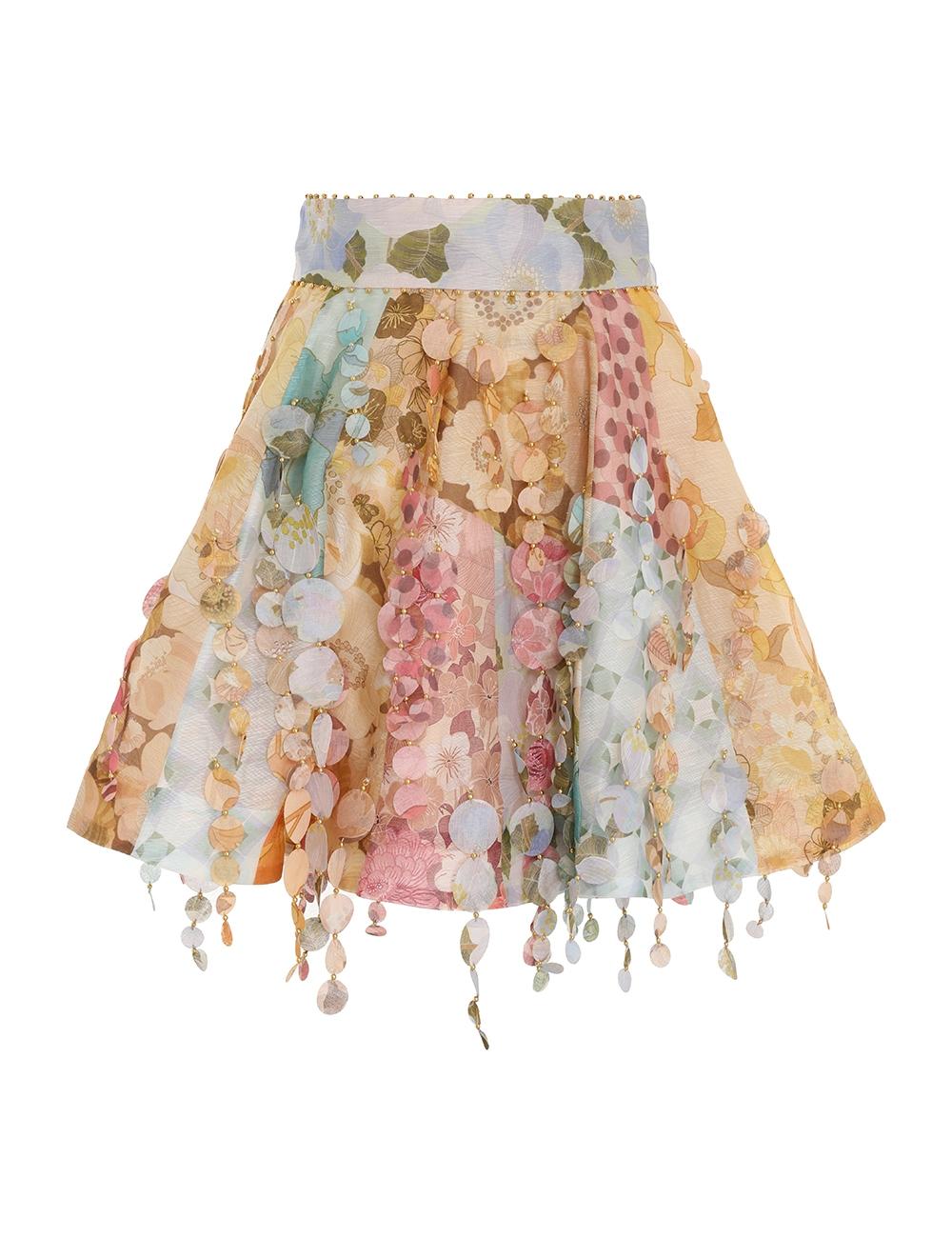 Tempo Patch Mini Skirt