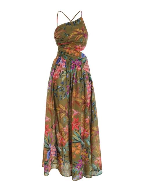Tropicana Asymmetric Dress