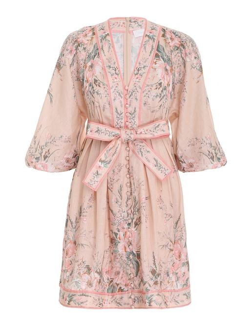 Moonshine Plunge Mini Dress
