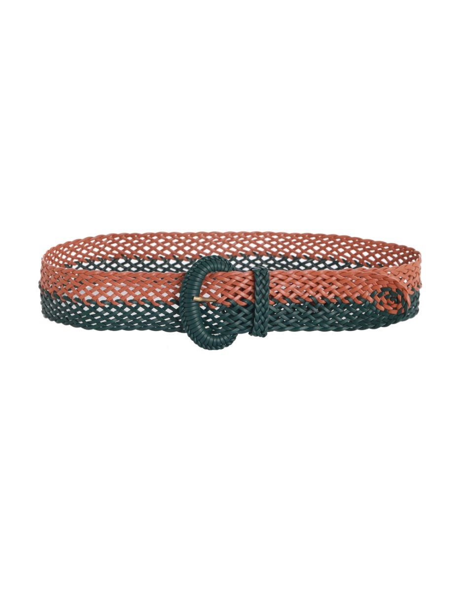 Bi Colour Woven Belt