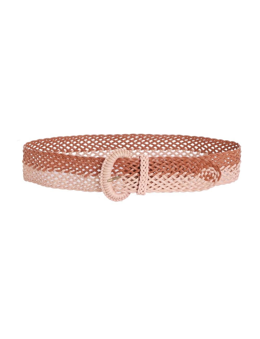 Bi Colour Woven Belt