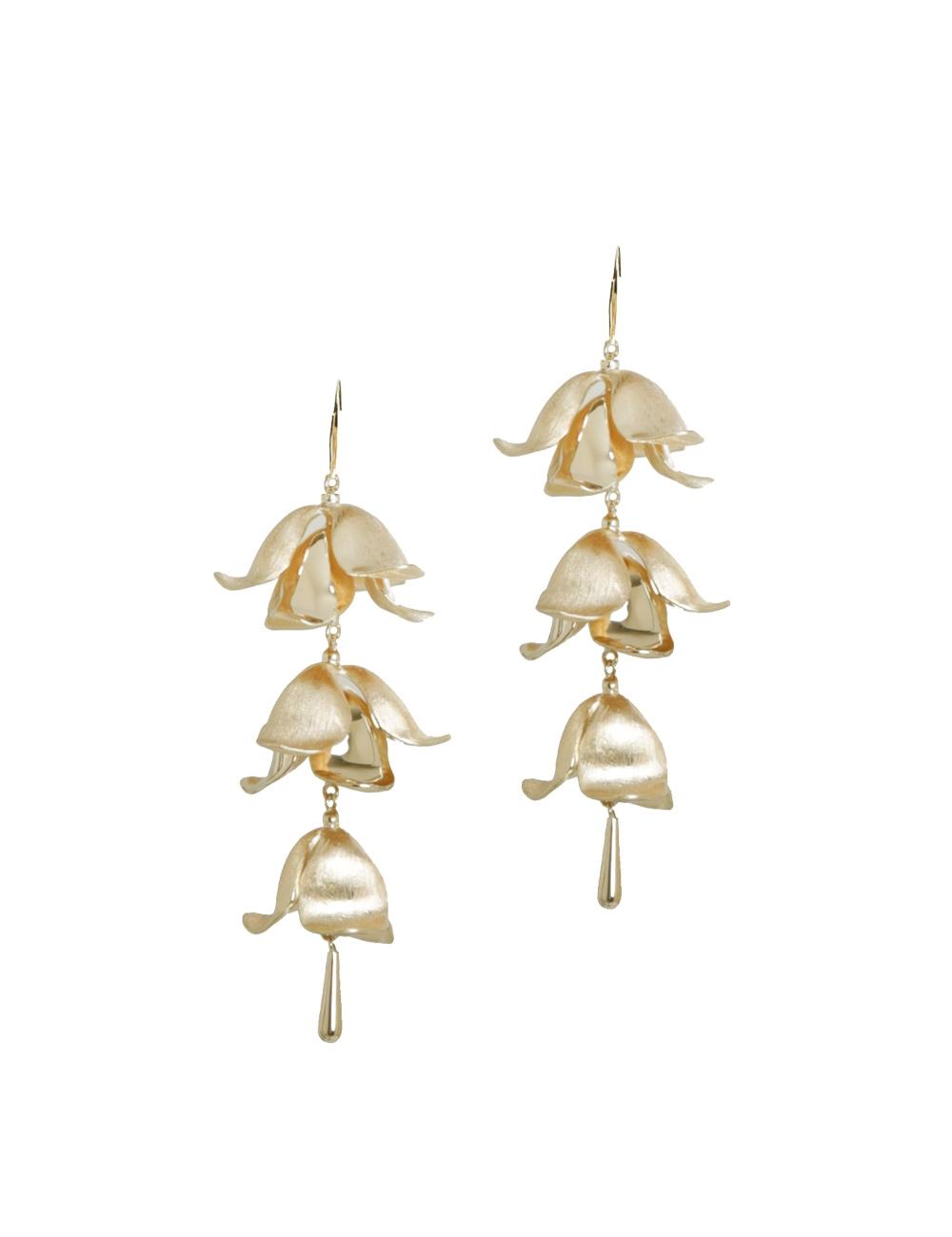 Orchid Bud Drop Earring