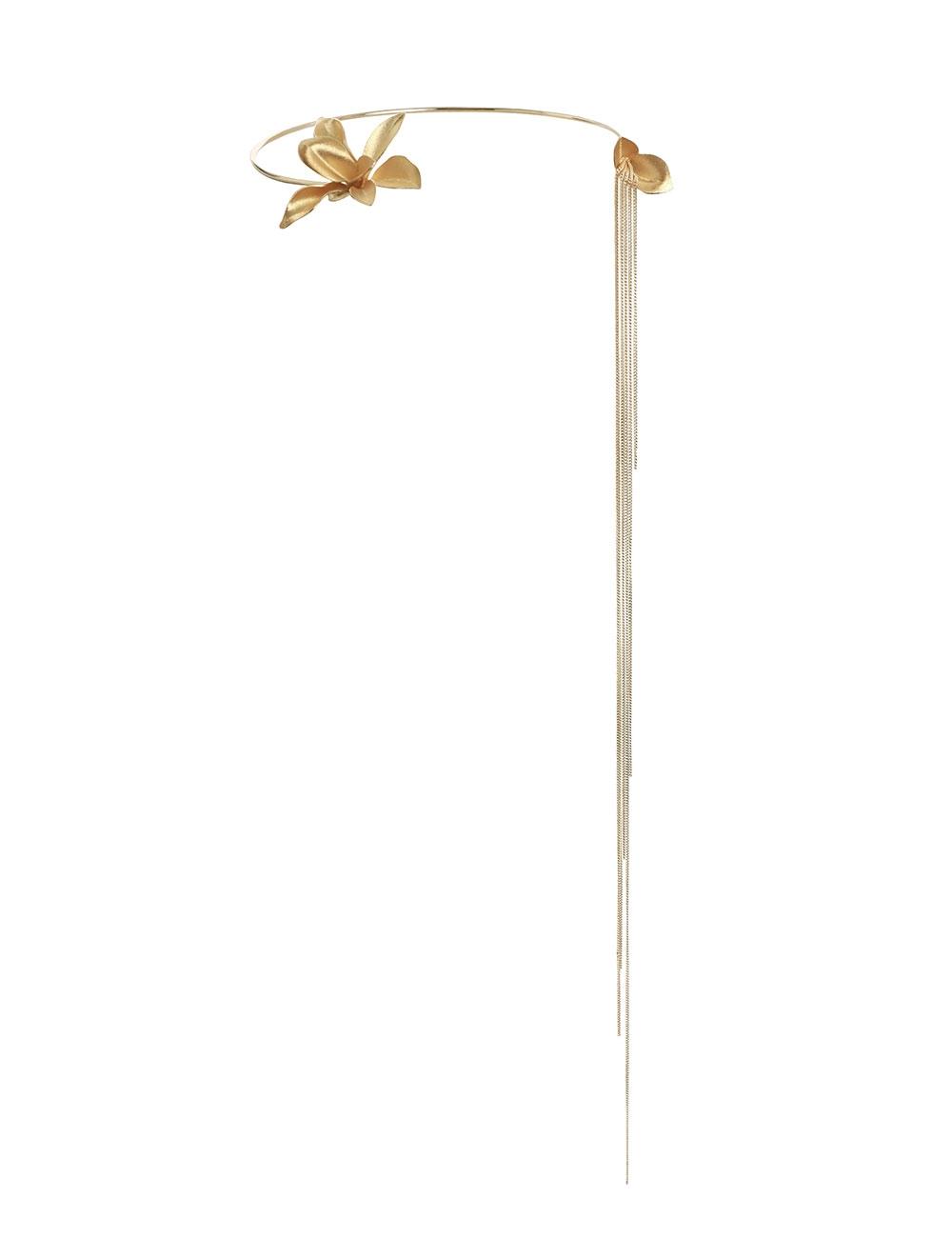 Orchid Drop Necklace