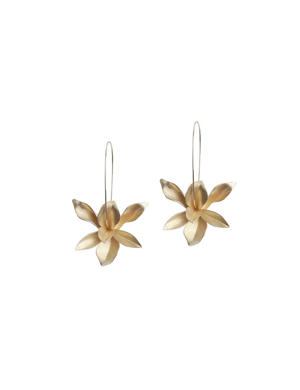 Orchid Fine Hook Earring