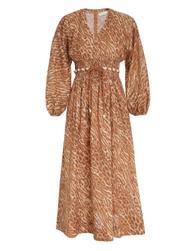 Tropicana Shirred Waist Dress