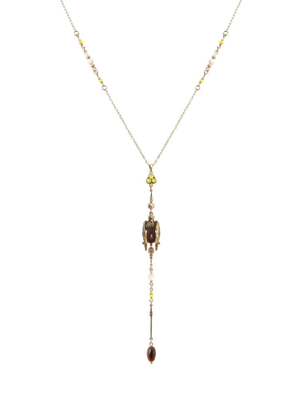 Swallow Chain Drop Necklace