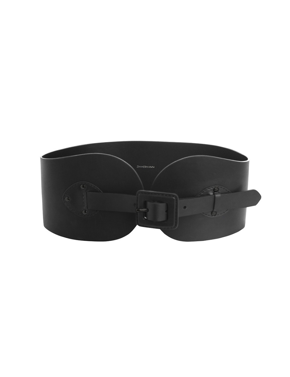 Covered Buckle Waist Belt