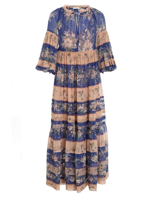 Moonshine Tuck Midi Dress