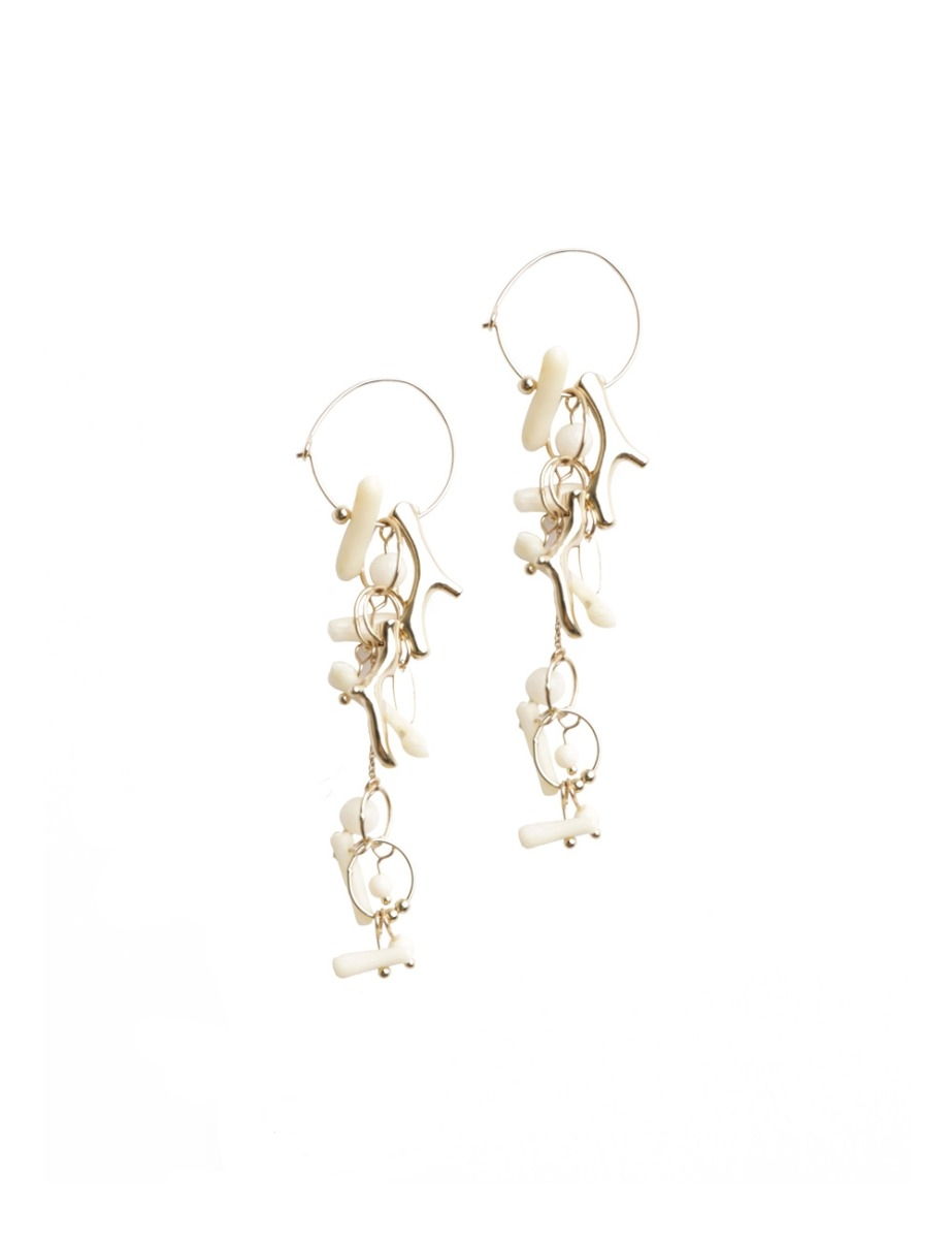 Island Drop Statement Earring
