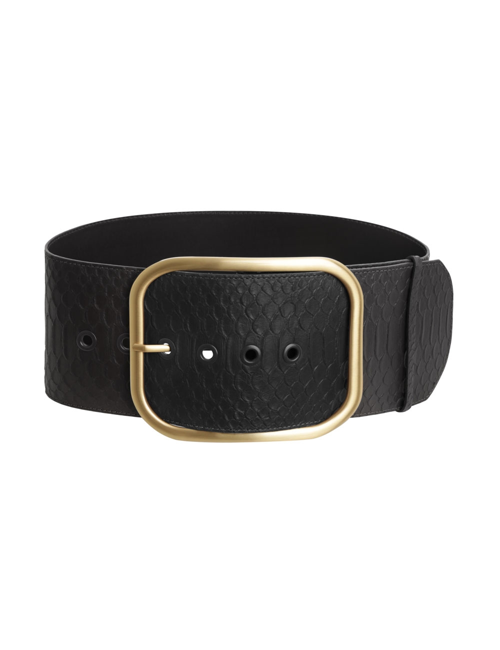 Oversized Buckle Waist Belt