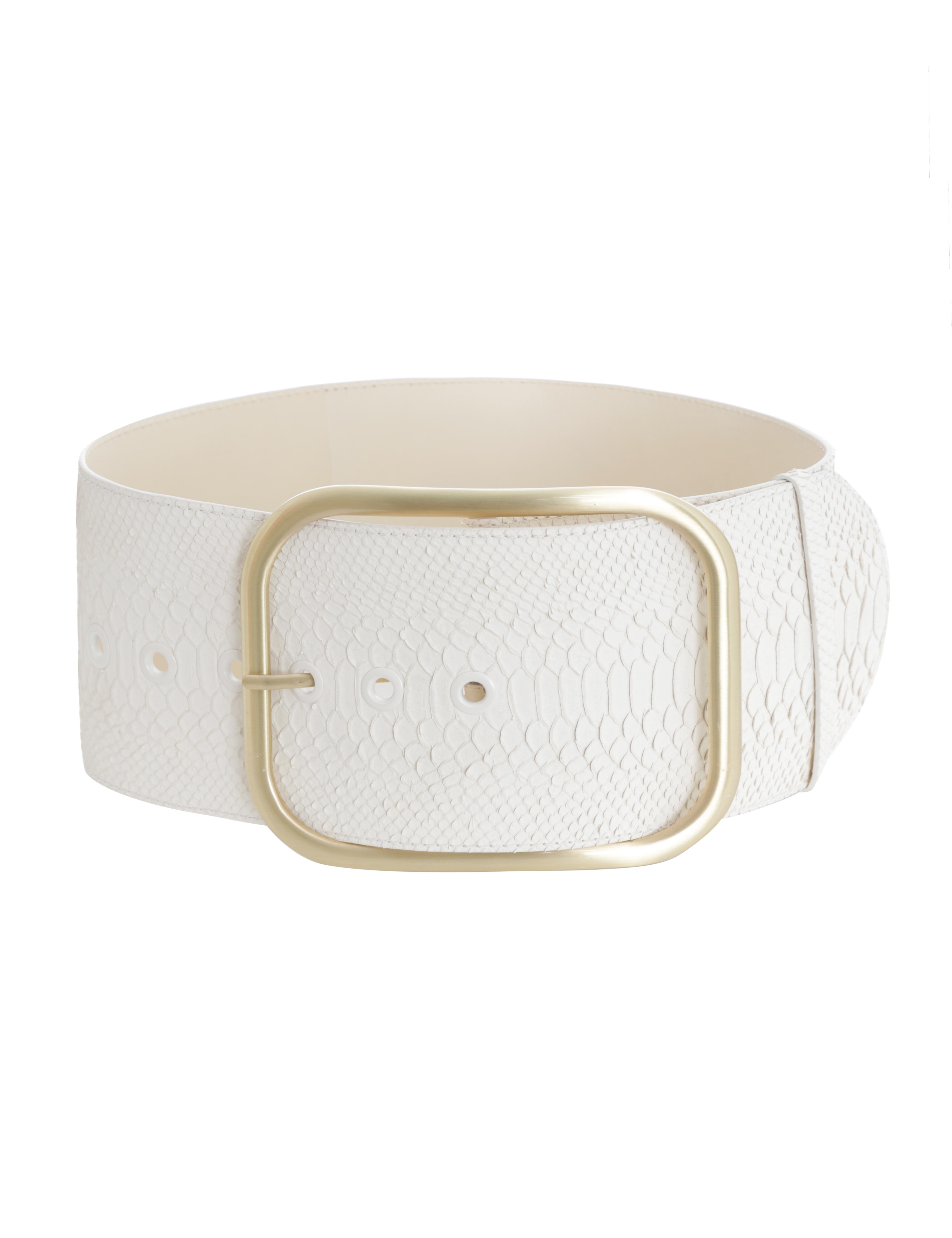 Oversized Buckle Waist Belt