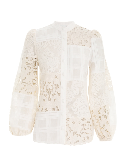 Andie Patched Blouse